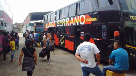 Chiclayo: pasajes en terminales suben en más del 200 por ciento por Navidad