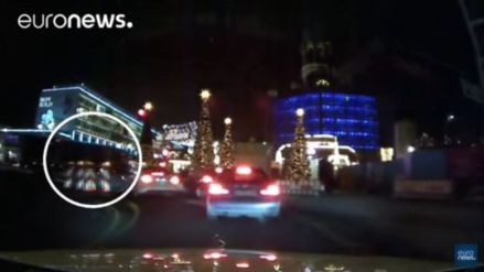 Difunden el primer video del atentado en Berlín