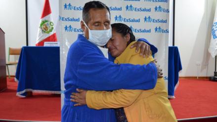 Hija logró salvarle la vida a su padre tras donarle un riñón en Huancayo