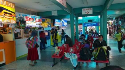 Precio de pasajes se incrementaron en el terminal interregional de Puno
