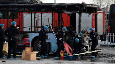 China ejecuta a un pirómano que incendió un autobús y mató a 18 personas