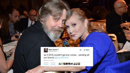 Twitter | Familia de Star Wars y famosos unidos por Carrie Fisher