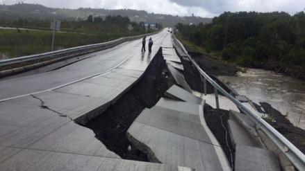Un terremoto de 7.6 grados sacudió el sur de Chile