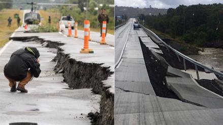 Fotos | Los daños que causó el sismo de 7.6 grados en Chile