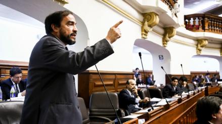 Yonhy Lescano pide que Mauricio Mulder se retire de la comisión 'Lava Jato'