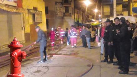 Hidrantes no funcionaron para apagar incendio en Cajamarca