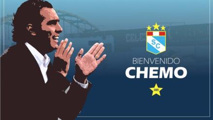 Sporting Cristal confirmó a Chemo del Solar como su director técnico