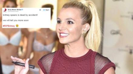 Sony Music anunció la 'muerte' de Britney Spears en Twitter