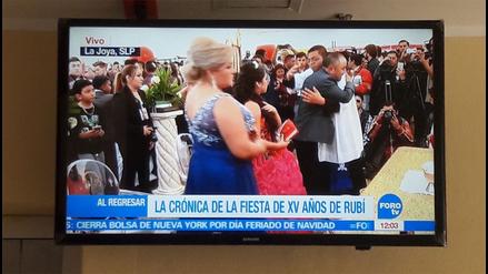 Así se vive el quinceañero de Rubí, el evento que paraliza México