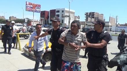 Sujeto asaltó y cortó el rostro a mototaxista con un machete