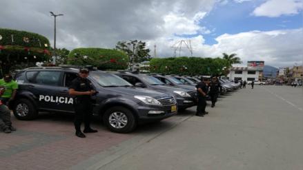 Entregan 66 patrulleros inteligentes a la región San Martín