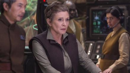Carrie Fisher: Lo que se sabe de la princesa Leia en el Episodio 8