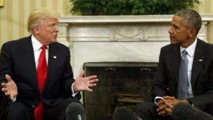 Trump le responde a Obama que de ninguna manera le habría ganado