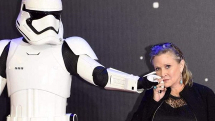 Twitter: elenco de Star Wars se despide de su entrañable compañera Carrie Fisher