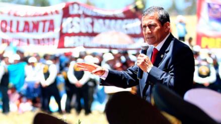 Ollanta Humala será interrogado en enero por aportes al nacionalismo