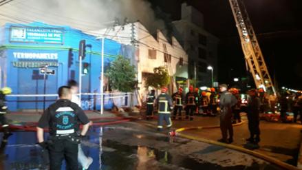 Una peruana murió en un incendio en una bodega en Santiago de Chile