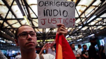 Arrestan al acusado de asesinar a golpes a vendedor ambulante en Brasil