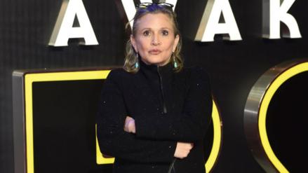 Princesa Leia: el proyecto que Carrie Fisher no logró completar antes de morir