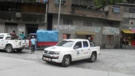 Carabaya: ronderos retuvieron camioneta del gobierno regional