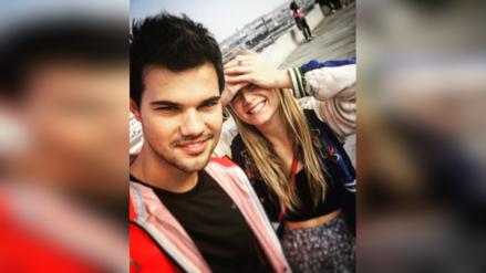 Taylor Lautner mantiene un romance con la hija de Carrie Fisher