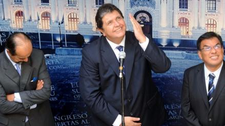 """Alan García sobre indagación por lavado de activos: """"No hay nada que ocultar"""""""