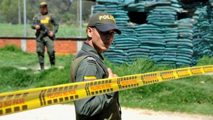Atentado en Bogotá dejó un policía muerto y seis heridos