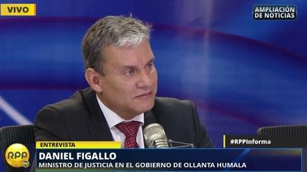 """Daniel Figallo: """"No he tenido nunca ningún contacto con Odebrecht"""""""