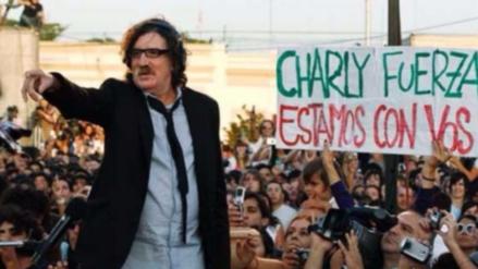 Charly García fue internado nuevamente