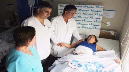 Chiclayo: médicos extirpan tumor abdominal gigante