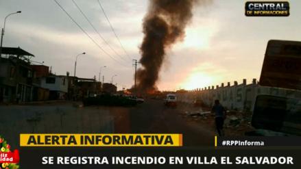 Un incendio arrasó con 30 viviendas en Villa el Salvador