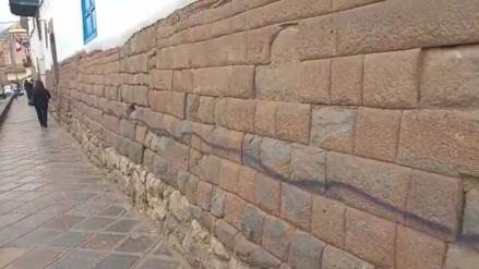 Atentan contra muros incas en Pampa del Castillo