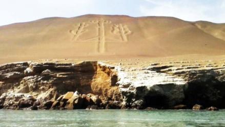 El Candelabro de Paracas fue declarado Patrimonio Cultural de la Nación