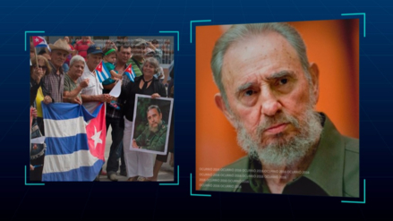 Fidel Castro , el líder de la revolución cubana, murió a los 90 años