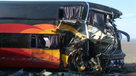 Nazca: trece heridos dejó choque entre bus y camión