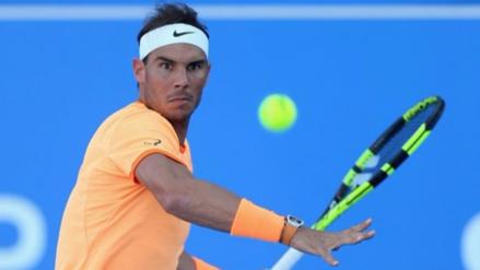 Rafael Nadal cerró el año con el título del torneo de exhibición de Abu Dabi