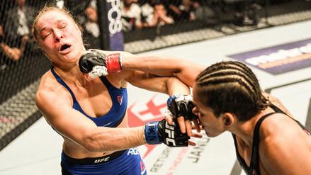 Ronda Rousey volvió a ser humillada, pero a manos de Amanda Nunes