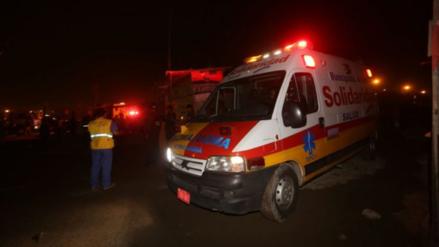 Delincuentes roban a los damnificados del incendio de Villa El Salvador