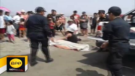 Dos personas murieron ahogadas en playa de Huaura