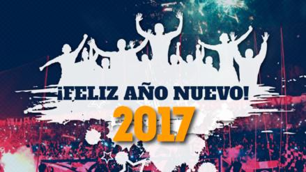 Así fue el saludo por Año Nuevo de los clubes del Descentralizado peruano
