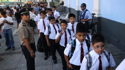 Alumnos de colegios públicos volverán a las aulas el 13 de marzo