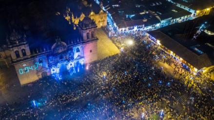 Las fiestas por Año Nuevo en Cusco vistas en 360°