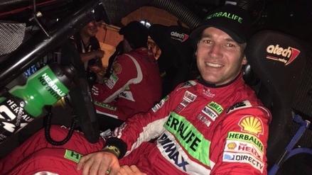 Nicolás Fuchs terminó la primera etapa del Rally Dakar 2017 con un pequeño accidente