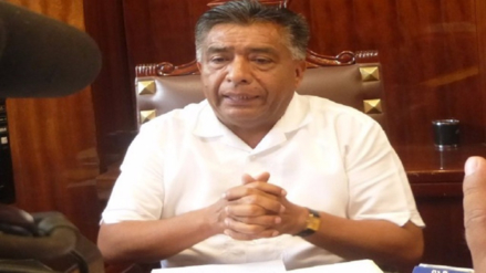 Alcalde de Chiclayo anunció cambio de jefe del centro gestión tributaria