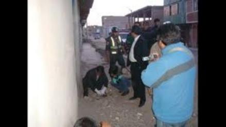 Juliaca: encuentran feto en plena calle del barrio Pedro Vilcapaza