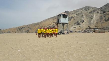 Cinco rescates realiza el personal de Salvataje en playas de Chimbote
