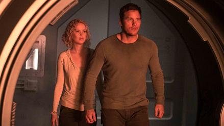 Jennifer Lawrence y Chris Pratt protagonizan nuevas fotos de Pasajeros