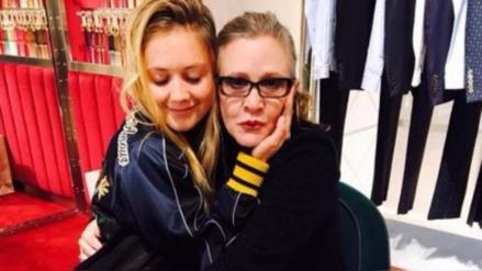 Hija de Carrie Fisher agradeció apoyo de sus fanáticos