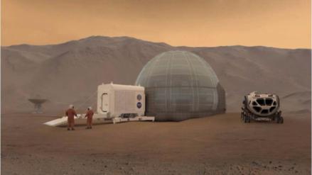 El nuevo modelo de casa de la NASA para colonizar Marte
