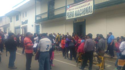 Judiciales de Cajamarca continúan en huelga