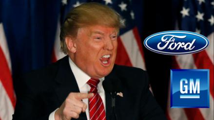 Donald Trump amenaza a General Motors con subirle aranceles si produce en México